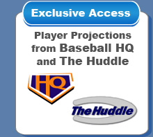 Exclusive Access to Player Projections from Baseball HQ and The Huddle
